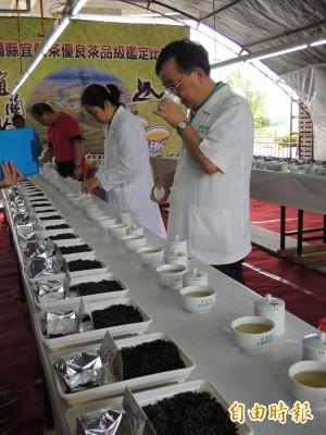 宜縣春茶評鑑  特等獎一台斤1萬2000元