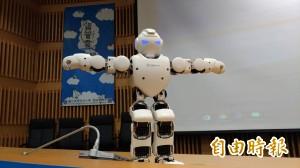 科技來自於人性 虎科大資管雲、照護機器人亮相