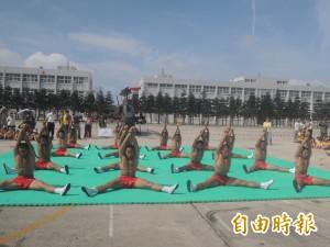 漢光演習全民國防 太武營區國軍新式武器展