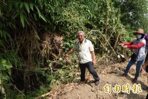 斗南排水溝沒整治 40公頃農田遭殃