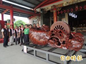巧聖仙師文化祭28日大安遶境 展示超大型墨斗