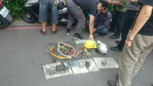 偷遍大高雄路燈開關 假工人被圍捕到案