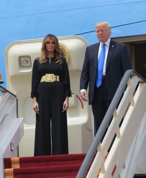 伴川普出訪  沙國民風保守 最辣第一夫人這樣穿...
