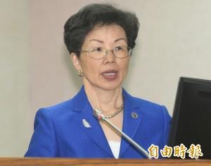 未獲邀WHA 張小月:台灣從不接受一中原則