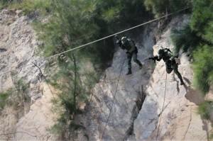 漢光實兵第2天 金防部演練人質營救