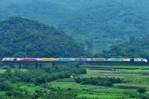 台鐵推130週年彩繪普悠瑪 網友讚超級漂亮