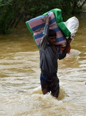 斯里蘭卡暴雨釀災 至少91死、逾百失蹤