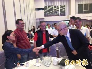 吳敦義新竹感恩茶會 盼明年選戰收復多縣市
