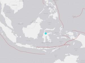 印尼蘇拉威西島規模6.6強震 未傳海嘯