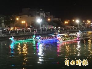 台南國際龍舟賽對決 「閃耀」運河美景