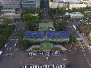 加工區公有建築屋頂將全面設置太陽能
