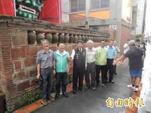 北港常民藝術獲肯定 鎮安宮、甕牆成歷史建物
