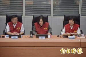 臉書PO國軍救災照 蔡總統要民眾注意安全