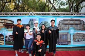 曾歷經八仙樂園塵爆 中國學生畢業了!