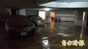 大湖山莊淹水 水利處:時雨量太大
