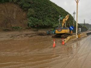 豪雨趨緩 預警性封閉路段從7段減為3段