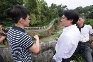 基隆尚仁國小旁步道坍塌 2個月內修復