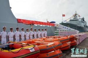 一帶一路引戒心? 印度讓中國艦隊「碰壁」