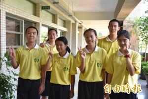 國中會考南榮國中6名5A++ 3人滿級分