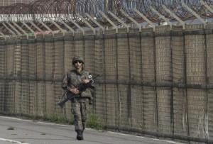 南北韓邊界驚見不明飛行物 疑為北韓無人機