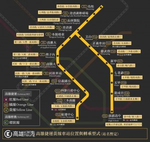 高市捷運局︰捷運黃線 並非均以站外轉乘