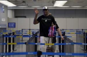 再訪北韓 NBA前球星羅德曼:試著打開一扇門