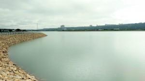 中庄調整池滿水位  鳶山堰不怕原水濁度高