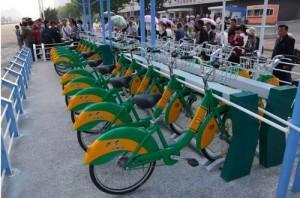 北韓在平壤設置共享單車 遭嘲諷「沒油了!」