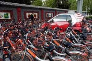 9成單車找不到!中國1單車共享公司退出市場
