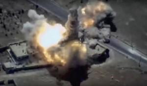 俄羅斯再射飛彈 轟炸IS軍事設施