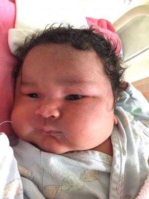 進擊的巨嬰!提早2週剖腹 成大接生4890公克混血男嬰