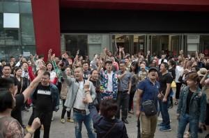 「還錢!」北京街頭驚現抗議群眾...  法媒:罕見