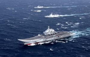 傳遼寧號率10艦經台海訪香港 軍方:全程監控因應