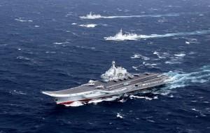 中國官媒:遼寧艦今率3艦啟航 展開跨區機動訓練