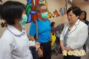 探視燿華工安意外傷患 林美珠:工廠搶救SOP要改進