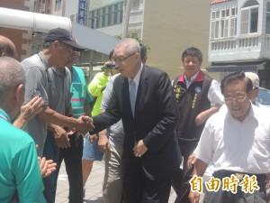 吳敦義澎湖謝票之旅 瞄準縣市長及總統選舉