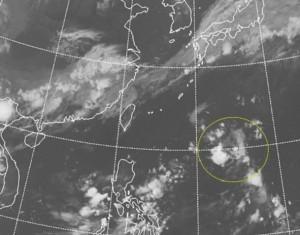 菲律賓東方出現熱帶擾動  吳德榮:結構鬆散仍須觀察