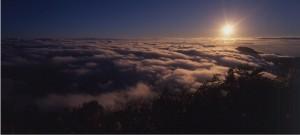 上太平山等日出 暑假凌晨3點半就開園