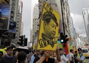 香港6萬人抗議 習近平警告:學生需愛國教育!