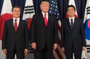 美日韓首次聯合聲明 促安理會進一步制裁北韓