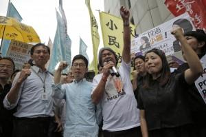 港4議員遭判失格 時力:強烈譴責