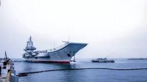 遼寧號航艦返回青島母港 中國官媒:將展開後續訓練