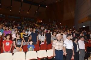 觀賞「看見台灣」追思齊柏林 李進勇籲民眾舉手之勞疼台灣