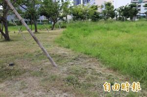 2000坪綠地變「陰陽海」 鄉親批:竹北最醜公園