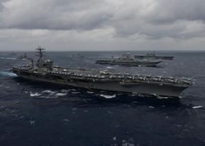 牽制中國!美國公開美日印於印度洋軍演