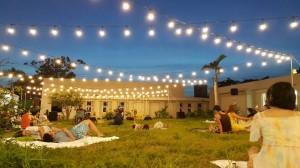週末來墾丁「半島遊樂園」 大灣草地音樂野餐去