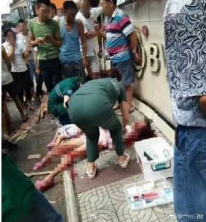 天降橫禍!中國2女童去補習路上被招牌砸死