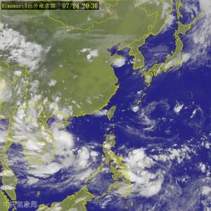 明全台燒滾滾 菲國東方海面熱帶擾動發展中