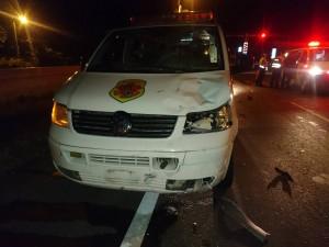 花蓮救護車急送盲腸病患 暗夜撞死酒駕女騎士