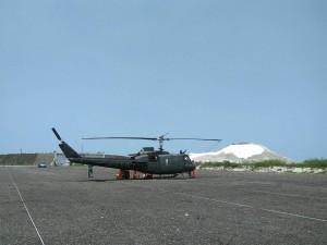陸軍UH-1H直升機預警落地  航特部:人機均安